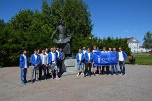На экскурсии в Тобольске