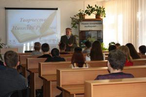 Виктор Борисов на встрече со студентами Тобольского индустриального института