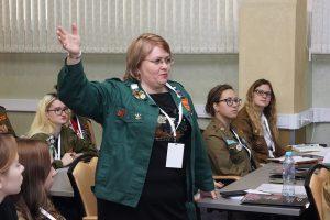 Елена Доценко на совещании комиссаров