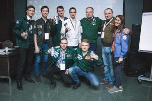 Участники школы с Юрием Болдыревым