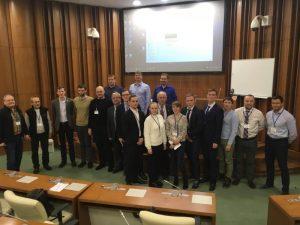 """Участники конференции, секция """"Природные ресурсы, современные изменения климата и трансформация криолитозоны""""."""