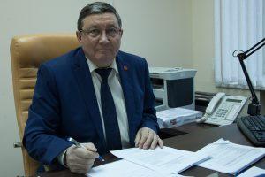 Поздравления с Днём рождения принимает Владимир Долгушин