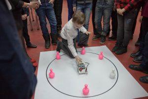 Робот для игры в кегельринг, ШИР