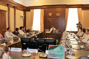 На встрече в Правительстве Тюменской области