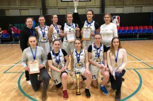 Женская сборная ТИУ  по баскетболу