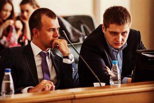 Дмитрий Ястремский (слева)