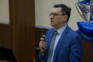 Директор Института транспорта Андрей Медведев