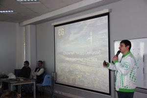 Руководитель направления бакалавриата ВИШ Галикеев Р.М. проводит аукцион