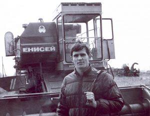 1985 год. с. Казанское. Владимир Бауэр