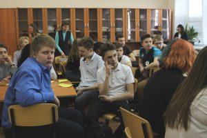 Девятиклассники стали участниками «Игр разума» в Многопрофильном колледже