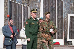 командир поискового отряда «Сибирь» Александр Лаптёнок награждён знаком отличия Министерства обороны Российской Федерации