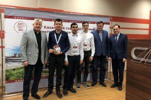 Команда ТИУ и представители КазГАСУ