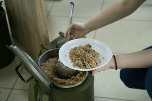 В Высшей инженерной школе EG Тюменского индустриального университета прошла акция «Солдатская каша»