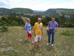 На практике в Крыму