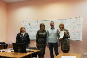 Участники семинара «Медиакомпетентность профсоюзного лидера»