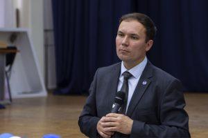 директор Института геологии и нефтегазодобычи Алексей Портнягин