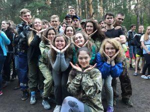 Студенты-геологи на практике