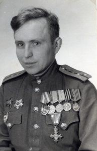 Владимир Артамонов, май 1945, Берлин