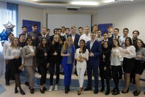 Первокурсники филиала ТИУ в Нижневартовске