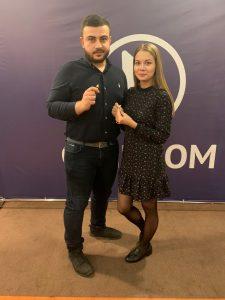 Мария Уфимцева и Аршавир Овеян