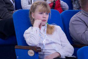 Участница олимпиады