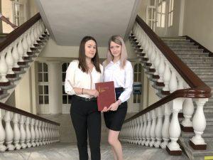 Юлия Короткова и Елизавета Воронцова
