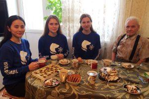 """Отряд """"Соболь"""" в гостях у Мефодия Гавриловича Гаврилова"""