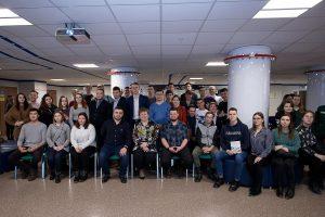 Студенты опорного вуза на встрече с главой университета В.В. Ефремовой