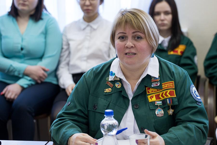 Руководство опорного вуза встретилось со студенческими отрядами
