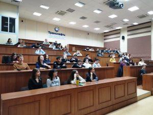 Студенты ВИШ EG