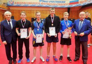 Мужская команда тИУ по теннису
