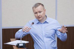 Руководитель направления по закупкам ООО «Газпромнефть-Заполярье» Антон Огудов
