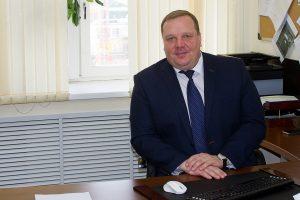 Начальник управления организации капитального строительства Дмитрий Карташов