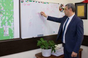 Начальник отдела проектов автоматизированных систем управления технологических процессов и связи Аркадий Спирин