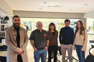 Мустафа, Фирдавз и Влада на встрече с представителями программы n2n в Университете Ставангера
