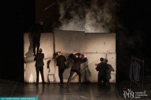 В направлении «Театр» номинации «Театр малых форм. Коллективы» первое место завоевала театральная студия «Быть» ТИУ со спектаклем «Памяти ангела»