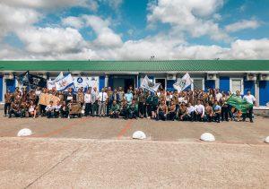 Открытие Всероссийской студенческой стройки «Мирный атом МБИР» в Димитровграде Ульяновской области