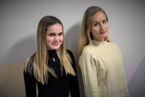 Мария Давыдова и Ксения Плотникова